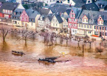 Hochwasser in der Provinz: Hier in Rheinland-Pfalz. (Bild: Pixabay License)