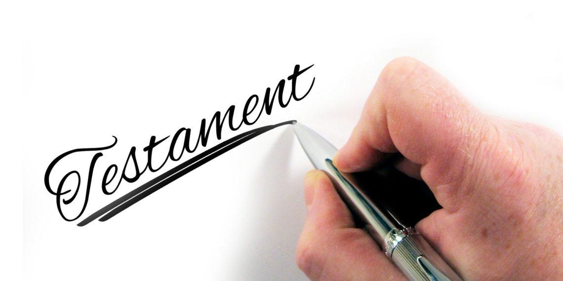 Ein Testament muss handschriftlich verfasst werden. (Foto: Gerd Altmann, pixabay)