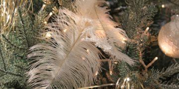 In der Tat schmückzte man früher den Christbaum häufig mit Lametta - abr das ist schon sehr lange her. (Foto: Kerstin Riemer, Pixabay)