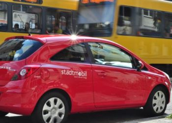 In Städten und Ballungsräumen ist das Carsharing längst Teil des ÖPNV. (Foto: stadtmobil Stuttgart)