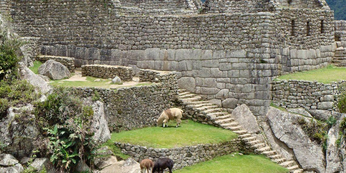 Die heilige Inka-Stätte von Machu Pichu in Peru steht unter dem Schutz des Unesco-Weltkulturerbes. Wild biserln dürfen hier bestenfalls die Lamas. (Foto Aline Dassel, Pixabay)
