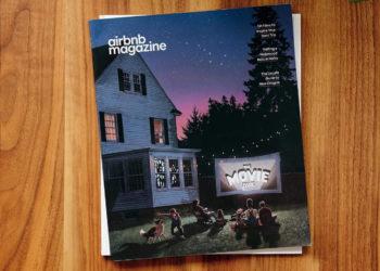 Mit einem Hochglanzmagazin wirbt der irische Ferienwohnungs-Vermieter Airbnb für seine Lebenswelt. (Foto: Airbnb)