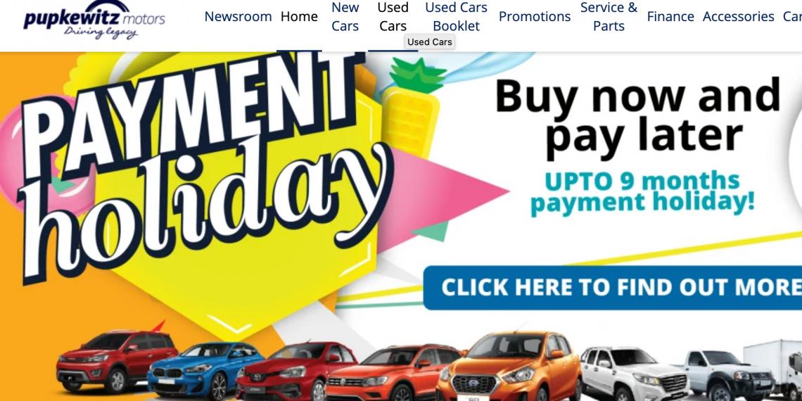 Corona: Pupkewitz Motors aus Namibia kurbelt mit Payment Holiday das Autogeschäft an