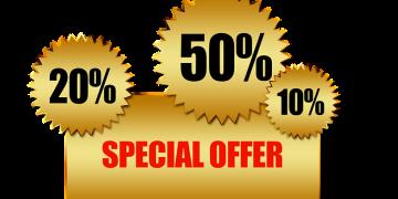Viele Shops, Jobbörsen oder Partnerbörsen locken mit oft erfundenen Dauer-Preisnachlässen für Neukunden. (Bild: pixabay.com | free)